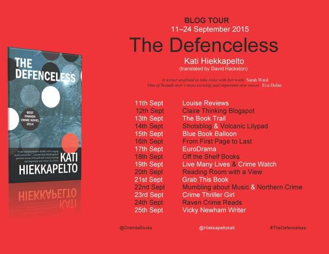 Defenceless Blog Tour