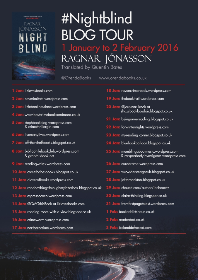 Nightblind Blog tour