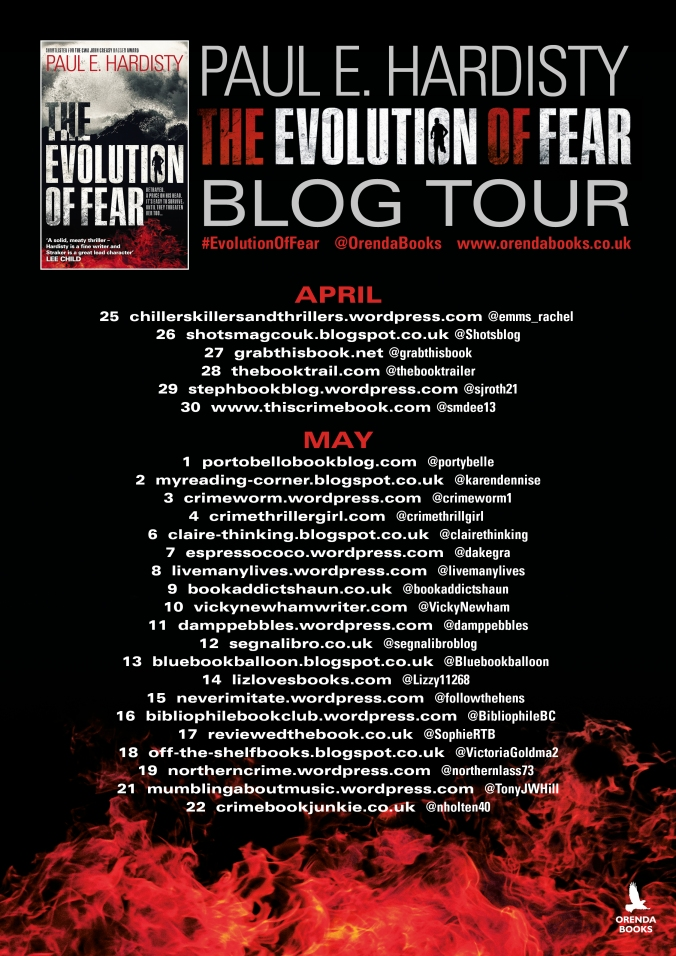Evolution of Fear Blog tour 2