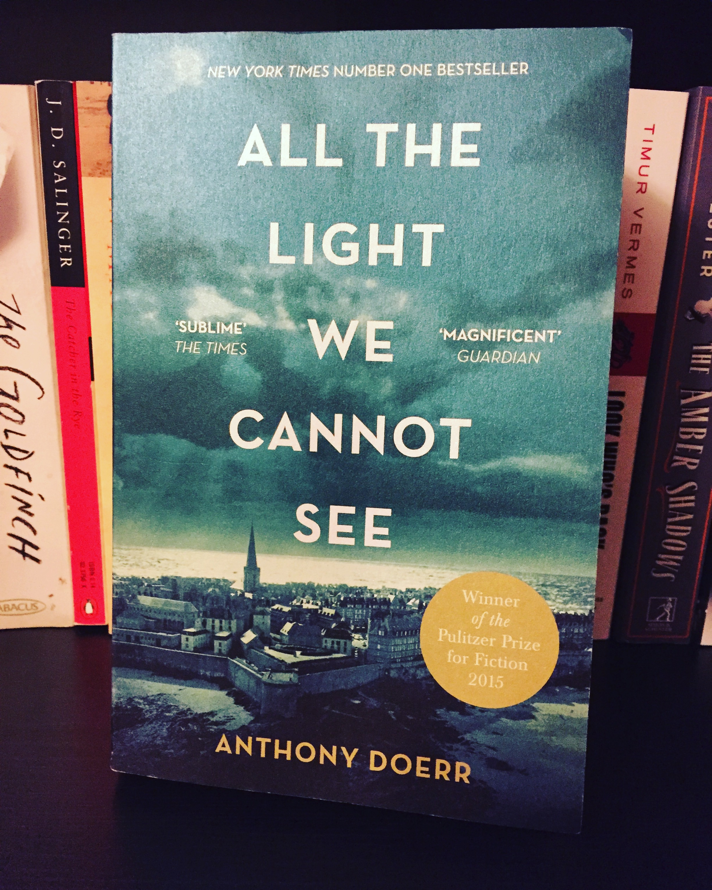 Some Time Last Year I Saw All The Light We Cannot See By Anthony Doerr On A  Table In The Local (chain) Bookshop. Immediately I Was Struck By The Cover ( Iu0027m ...